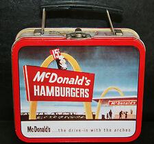 1997 McDonald's Mini Metal Lunchbox - Very Nice!