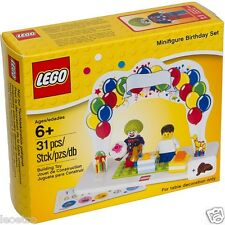 Lego Accessories 850791 Minifigures Birthday Set Exclusive cake topper - RARE