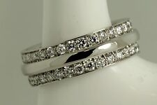 Diamond wedding band ring ladies  Hatton garden Hand made  eternity ring pt950