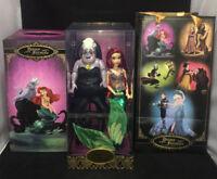 Disney Designer Fairytale Dolls Heroes & Villains Ariel And Ursula LE 3359/6000