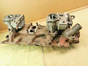Intake Manifold 1958 59 60 61 Chevy Impala Belair 348 409 TRI POWER 3x2 A-2-58