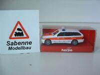 Herpa 044356 1/87 H0 Mercedes Benz C-Klasse Notarzt BRK Fürth OVP B657