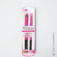 "1 REAL TECHNIQUES Lip Color + Blur Makeup Brush Set ""RT-1532""  *Joy's cosmetics*"