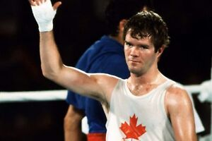 SHAWN O'SULLIVAN 8X10 PHOTO BOXING PICTURE CANADIAN CHAMPION TEAM CANADA OLYMPIC