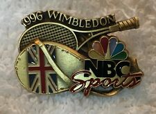 NBC Sports TV Media Guest 2006 Wimbledon Tennis 3D Pin Nice!