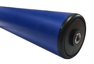 Medium Duty Blue 50dia PVC Roller With Female Thread M6 Ends (PRP5010AX86)