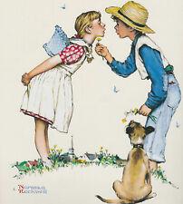 Beguilding Buttercup Norman Rockwell 8 X 10 Art Print