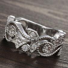 Women Lady Ring Natual Zircon Rhinestones Size 6-10 Fashion New Zircon ring