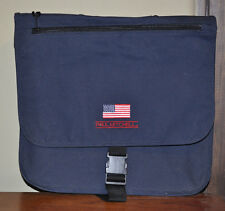 Paul Mitchell Embroidered Messenger Bag