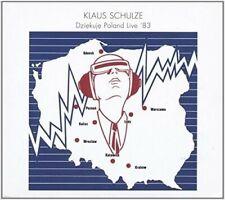 KLAUS SCHULZE - DZIEKUJE POLAND LIVE '83  2 CD NEW+