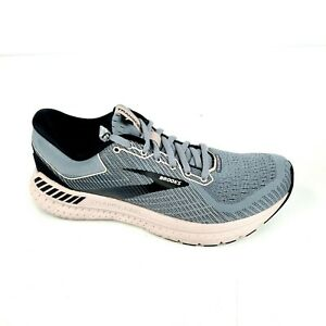 Brooks Transcend 7 Womens Athletic Running Shoes Gray Blue / Pink Size 8.5 M