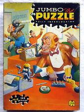 Altes JUMBO Jig Saw PUZZLE Fully Interlocking (seltenes Sammlerstück) 160 Teile