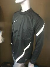Nike Dri-Fit Men T-shirt Size L Black White Authentic Short Sleeve