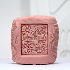 Good luck stamp - Handmade Silicone Soap Mold Candle Mould Diy Craft Molds