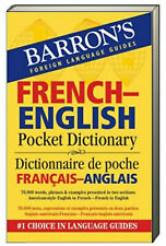 Barron's Pocket Bilingual Dictionary French-English Pocket (Paperback)