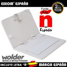 """FUNDA CON TECLADO TABLET WOLDER MITAB PHOENIX 9"""""""