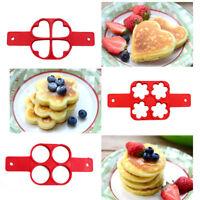 Pfannkuchen Schimmel Form Silikon Omelett Ei Ring Hersteller Küche Form Werkzeug