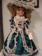 "Treasured Heirloom Collection ""Pamela"" By Janis Berard, 26"" Inch Porcelain Doll"