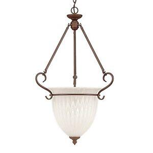 Millennium Lighting 6003BZ 3 light entry bowl rubbed bronze *