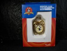 Loony Tunes  TWEETY AND SYLVESTER  Mini Clock  -  In Box