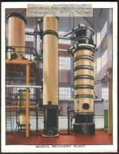 Benzol Recovery Extraction From Coal-Gas Plant c80 Y/O Trade Ad Card