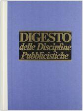 Digesto. Discipline pubblicistiche. Vol. 11 - [UTET]