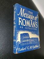1947 The Message of Romans -  Robert C. McQuilkin, Zondervan