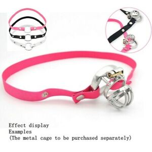 Male Chastity Ring Device Elastic Band Auxiliary Belt Adjustable Ring Underwear