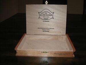 Solid Cedar Varnished Prado Cigar Box