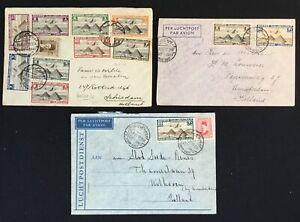 EGYPT 1937/49-- 5 x COVER ( SIMON ARZT) TO HOLLAND --F/VF