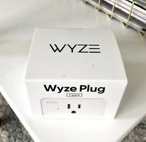 WYZE WLPP1CFH-1 Smart Plug - White - Brand New Android 5.0+ iOS 9.0+ Compatible
