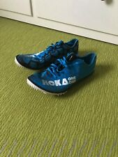 Salming iSpike Shoe Men Cyan Blue White Laufschuhe Trailschuhe Spikes Blau