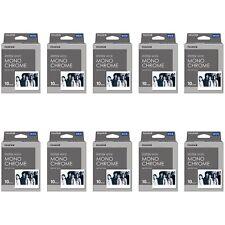 10 Packs 100 Instant Photos Monochrome FujiFilm Instax Wide Film Polaroid Camera