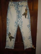 Ladies Carmar Size 28 Waist NWT Juliet Relaxed Ankle High Rise Non Stretch Jeans