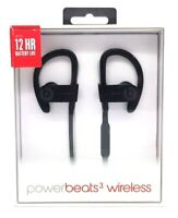 Beats by Dre PowerBeats 3 Wireless Bluetooth Sports Headphones Earphones Black
