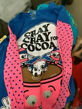 Justice Girls Cray Cray For Cocoa Googly Top size 12