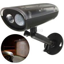 LED Solar PIR Motion Sensor Wall Light Outdoor Garden Security Lamp Waterproof