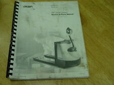 CROWN WP 2300 Series Service & Parts OEM 2004 LQQK!