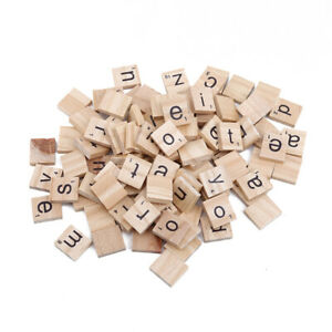 Wooden Scrabble Letters Alphabet Tiles Letters Numbers For Game Craft R