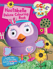 Hootabelle Deluxe Colouring Book by Giggle and Hoot
