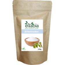 Xylit Xylitol Birkenzucker Zuckerersatz Zucker GMO-frei 100g Kleines Pack Eltabi