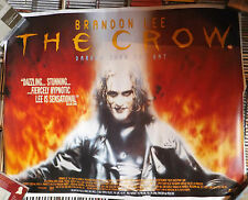 Brandon Lee - THE CROW - DARKER THAN THE BAT Filmposter A1 Reprint