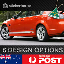 Holden VE Commodore Track Side Stripe Decal Kit SUIT SS SV6 HSV GTS
