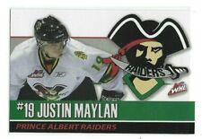 2009-10 Prince Albert Raiders (WHL) Justin Laylan (Rostocker EC)