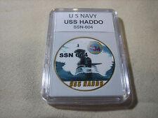 US NAVY SUBMARINE- USS HADDO / SSN-604 Challenge Coin