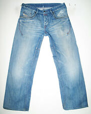 *HOT 100%AUTHENTIC Men DIESEL @ RUMBUM Art 796 RELAXED LOOSE BAGGY Jeans 33 x 32