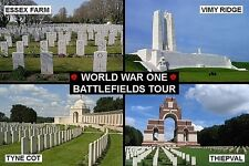SOUVENIR FRIDGE MAGNET of WW1 WORLD WAR ONE BATTLEFIELD SITE MEMORIALS