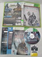 Assassins Creed Revelations Xbox 360 TESTED CIB COMPLETE FAST TRACKED SHIPPING