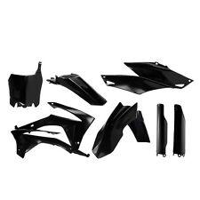 Acerbis Honda CRF250 2014 - 2015/CRF450 2013 - 2015 kit de plástico negro completo con un