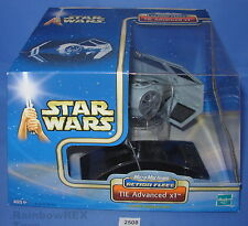 Star Wars Micro Machines Action Fleet 2002 TIE ADVANCED X1  Factory sealed Box
